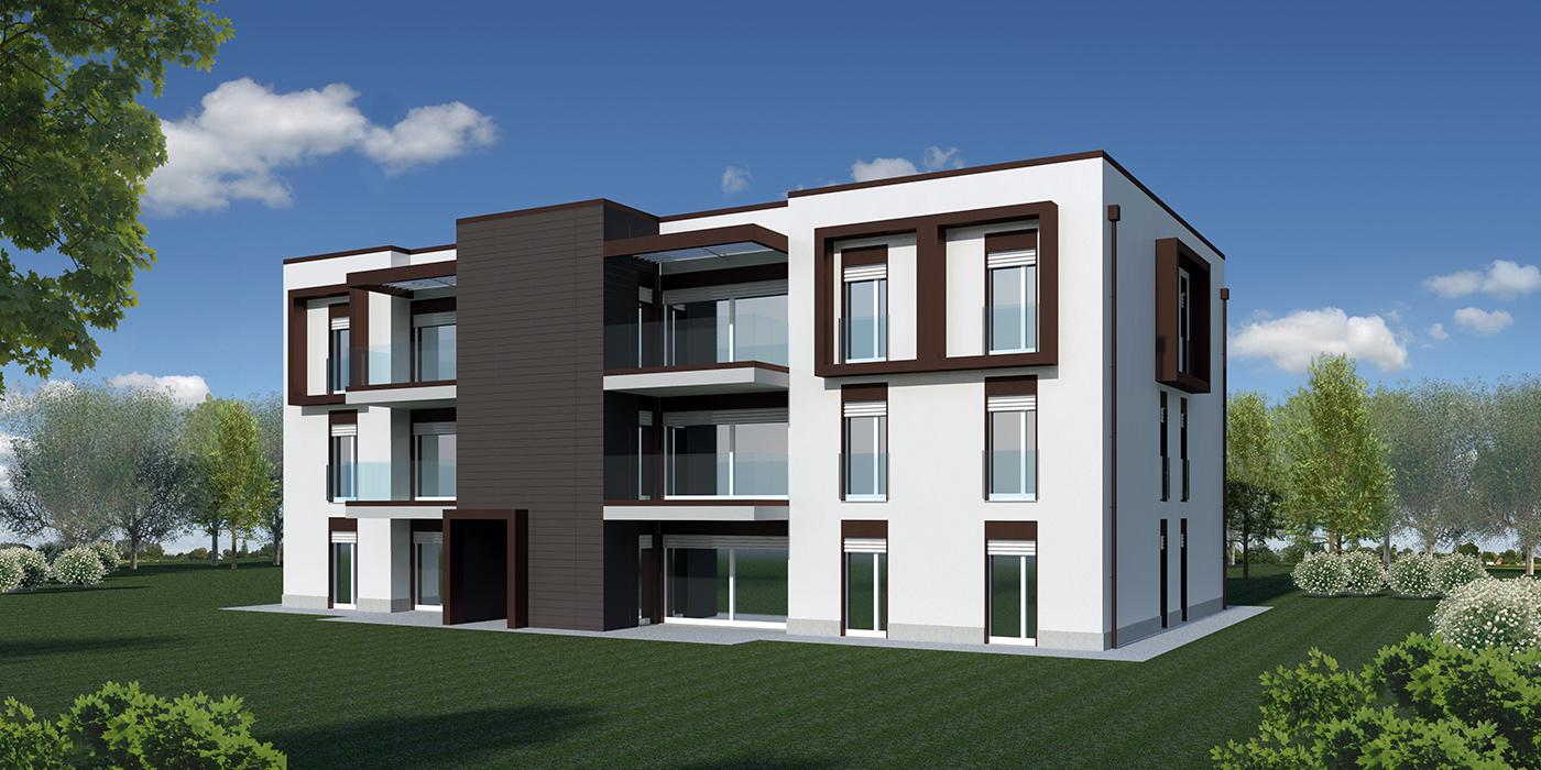 Case moderne ad un piano immagine della facciata di una for Progetti di case moderne a un solo piano