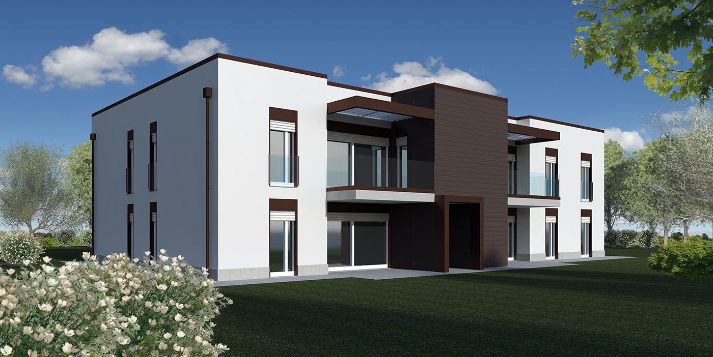 Habitat gfm abitare soluzioni costruttive con for Palazzine moderne